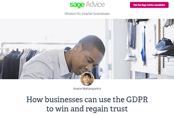How businesses can use the GDPR to win and regain trust