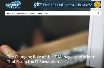 The changing role of the IT Manager
