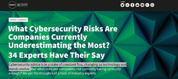 What cyber security risks are companies currently underestimating the most?