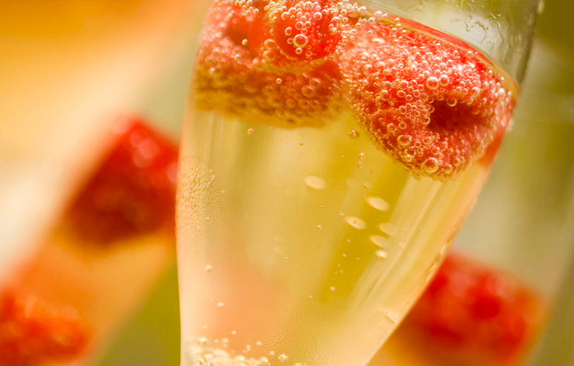 Champagne at Watermill Caterers