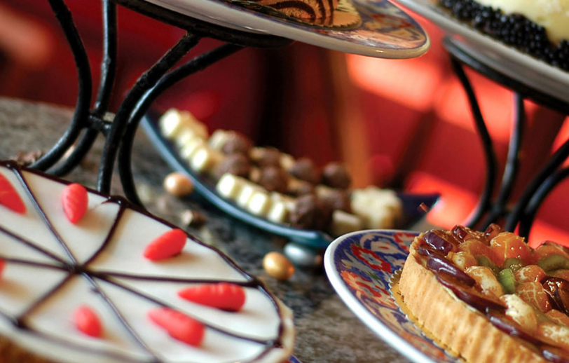 Dessert Platter at Watermill Caterers