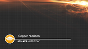 Copper Nutrition NK Series Title