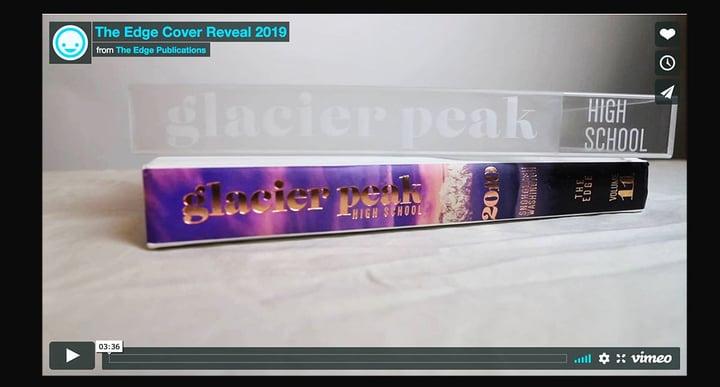 Glacier Peak High School 2019 yearbook spine