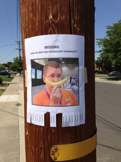 Have you seen this Evangelist?