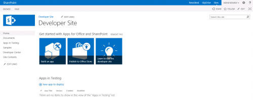 site templates | SharePoint Interests