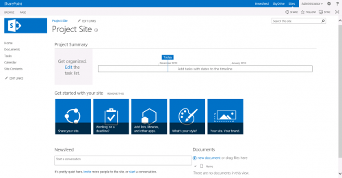 Free SharePoint 2013 Project Management Template - YouTube