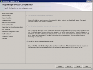 SQL Server SSRS