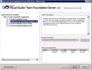 TFS 2010 With SharePoint