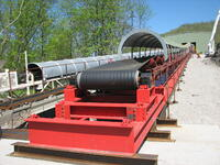 Barge Unloading Conveyor View 2