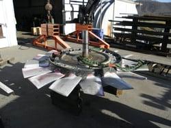 Disassembly of 10 Foot Joy Fan Rotor