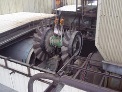 Dual Stage Axial Fan Rotor Repair