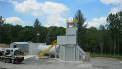 Elevated Airlock and Escape Cage Chimney