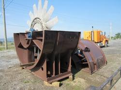 Installation of Rebuilt 10 Foot Fan Rotor