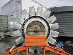 Rebuilt 10 Foot Rotor in Shipping Stand