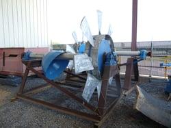 Rebuilt 8 Foot Jeffery Fan Rotor