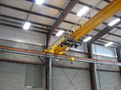 Overhead Crane Erection