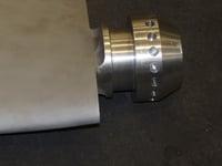CNC Aluminum Fan Blade from 3D Scan (2)