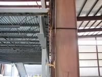 Red Iron Building Erection with Mezzanine