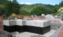 Slope Hoist Foundation