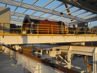 50 Ton Bridge Crane Mechanical Assembly