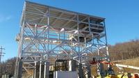 50 Ton Bridge Crane for 1,100 Foot Depth