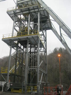 Headframe & Cage Erection