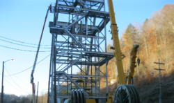 Headframe Erection (2)