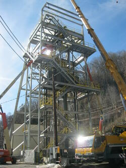 Headframe Erection