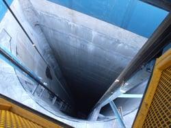 Escape Hoist Shaft Steel 750'