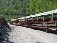 Barge Unloading Conveyor