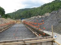 Concrete Reclaim Tunnel Foundation