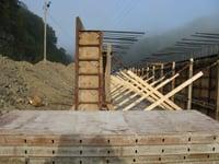 Concrete Reclaim Tunnel Walls