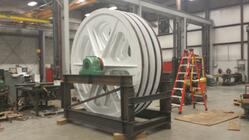 Refurbishment of 10 Foot Bullwheel
