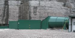 Drift Mine Canopy with Explosion Doors