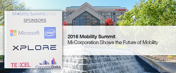 Mi-Corporation Shows the Future of Mobility at the 2016 Mobility Summit