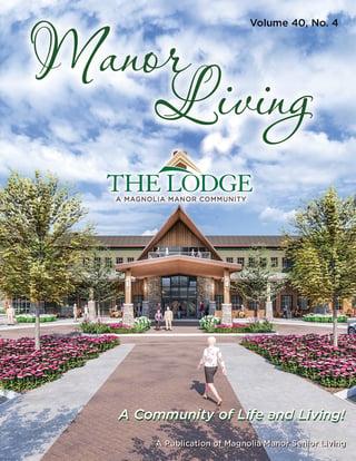 00565 Manor Living Magazine FALL 2019 Vol40 No4