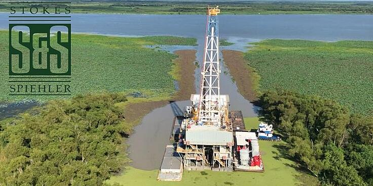 Stokes & Spiehler's Drilling Team Designs, Implements, and Manages a 17,000' Inland Barge Well for Byron Energy, Inc. in the Shell Island Field $3MM+ Under Budget.