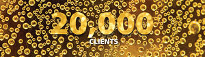 Celebrating our 20,000th client