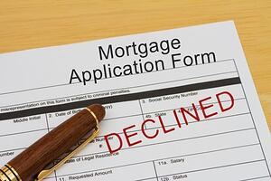 5 reasons lenders decline mortgage applications