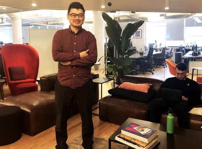 Meet a Text IQer: Senior R&D Engineer Weichen Wang