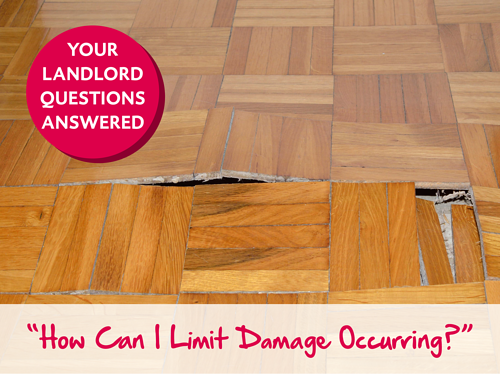 Limit damage occurring