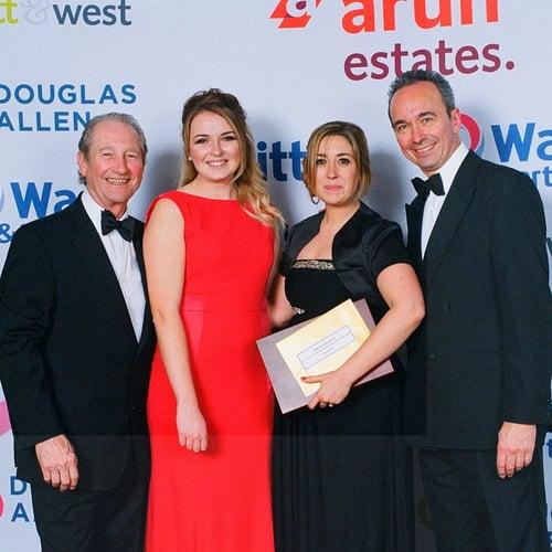 The award winning Headcorn team