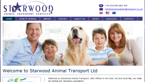 New website for united kingdom pet shipping service starwood animal transport uk website sciox Gallery