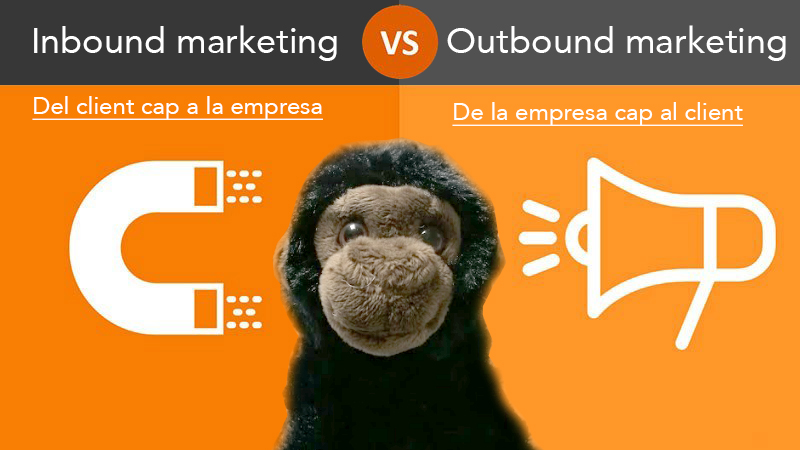 Quina és la diferència entre inbound i outbound marketing?