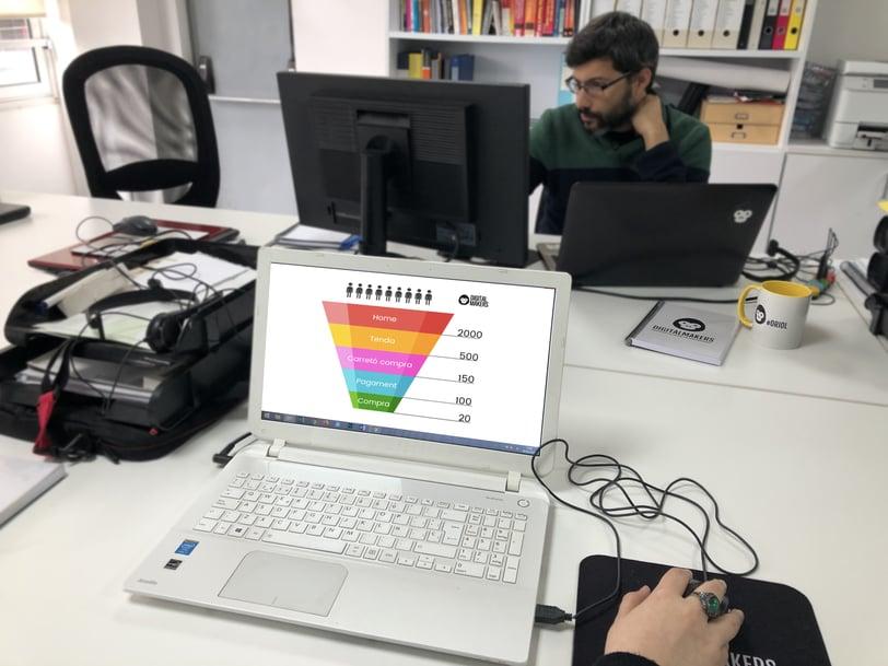 Funnel de conversió DigitalMakers