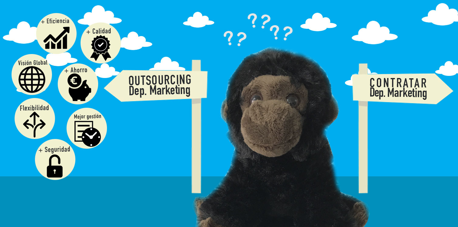 7 ventajas del outsourcing de tu departamento de marketing