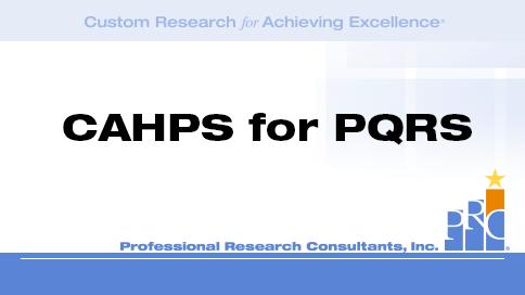Our CAHPS Director Jan Gnida explains CAHPS for ACOs