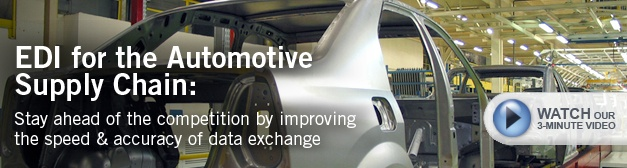 EDI Integration Automotive Supply Chain Video
