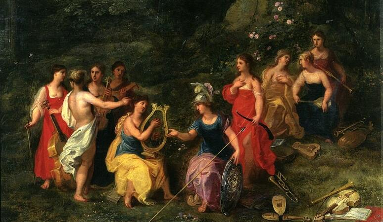 The Inspiration of the Muses