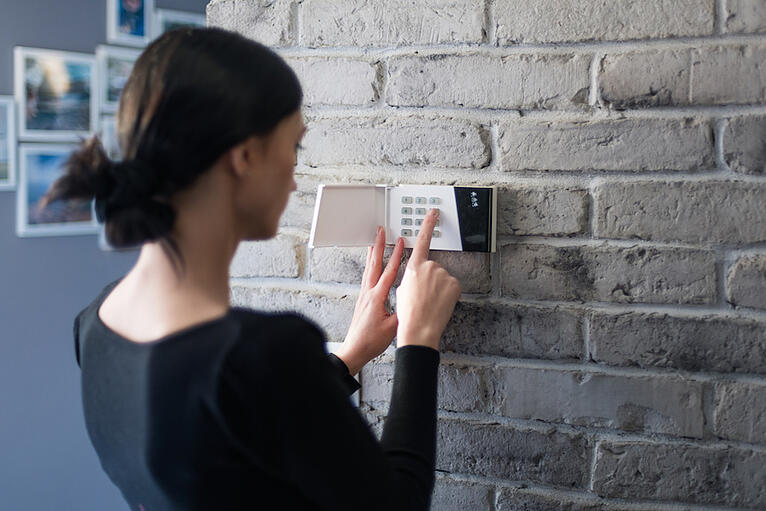 How to change your security alarm battery